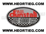 Paul Dunstall Suzuki GS 1000 CS Tank and Fairing Transfer Decal DDUN11-3